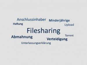Filesharing, Abmahnung, Verteidigung, Anwalt
