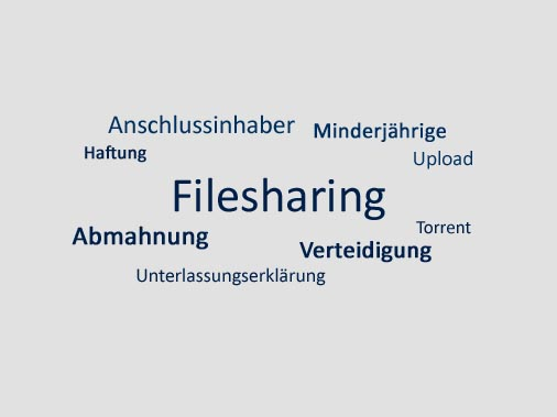 Filesharing Anwalt Aachen, Abmahnung