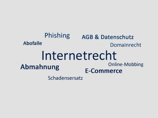 Rechtsgebiet Internetrecht