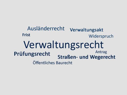 Verwaltungsrecht Anwalt Aachen & Köln