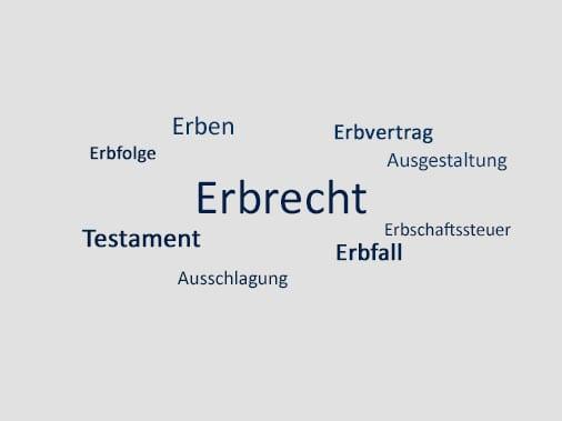 Rechtsanwalt für Erbrecht in Aachen und Köln