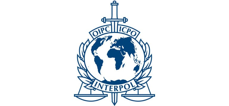 Red Notice Interpol Logo