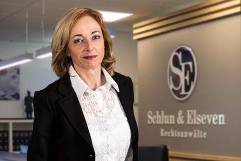 Sekretärin Lioba Behrend
