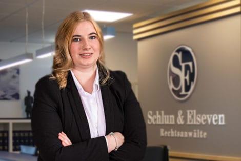 Sekretärin Vanessa Retza