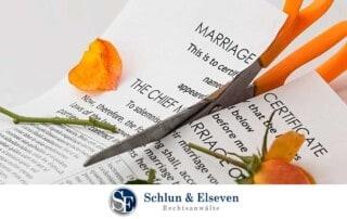 Die Aufenthaltserlaubnis nach der Scheidung in Deutschland
